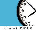 time management concept ... | Shutterstock . vector #539159131