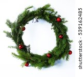 decoration items for christmas ... | Shutterstock . vector #539162485