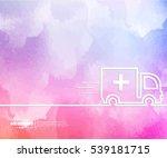 abstract creative concept... | Shutterstock .eps vector #539181715