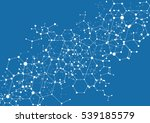 science and connection concept.... | Shutterstock .eps vector #539185579