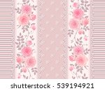 seamless striped pattern with... | Shutterstock .eps vector #539194921