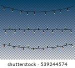 christmas lights | Shutterstock .eps vector #539244574