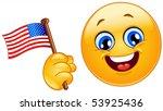 Patriot Emoticon Celebrating...