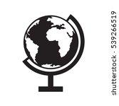 globe icon vector illustration   Shutterstock .eps vector #539266519