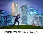 businessman carrying the burden ... | Shutterstock . vector #539267077