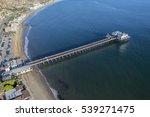 Aerial View Of Malibu Pier...