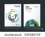 business vector set. brochure... | Shutterstock .eps vector #539284729