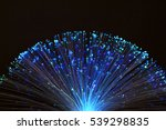 fibre optic lamp glowing | Shutterstock . vector #539298835