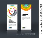 abstract business vector set of ... | Shutterstock .eps vector #539304601
