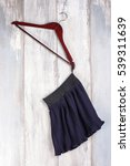 black skirt hanged on the... | Shutterstock . vector #539311639
