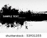 grunge banner. vector. | Shutterstock .eps vector #53931355