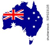 australia new south wales flag... | Shutterstock .eps vector #539323135