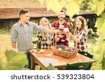 happy friends having fun...   Shutterstock . vector #539323804