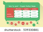 english grammar exercise game.... | Shutterstock .eps vector #539330881