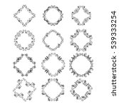 vector  handdrawn decorative... | Shutterstock .eps vector #539333254