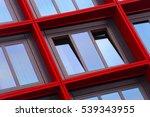 tilt close up photo of ajar... | Shutterstock . vector #539343955
