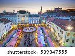 view on christmas market on the ...   Shutterstock . vector #539347555