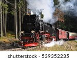 Steam Engine Train In Harz...