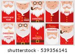 vector merry christmas and... | Shutterstock .eps vector #539356141
