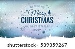 merry christmas and new year... | Shutterstock .eps vector #539359267
