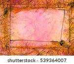 abstract style frozen... | Shutterstock . vector #539364007