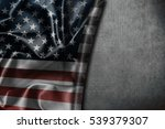 usa flag vintage background | Shutterstock . vector #539379307