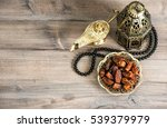 oriental lantern  rosary and... | Shutterstock . vector #539379979