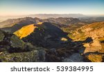 Evening Mountain Landscape Wit...