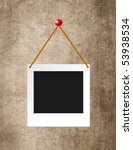 instant photo grunge background | Shutterstock . vector #53938534