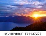 A Colorful Sunrise Over Lake...
