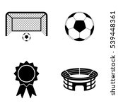 football icons  vector set | Shutterstock .eps vector #539448361
