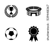 football icons  vector set | Shutterstock .eps vector #539448367