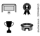 football icons  vector set | Shutterstock .eps vector #539448415