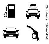 transportation icons  car wash... | Shutterstock .eps vector #539448769