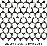 abstract seamless geometries... | Shutterstock .eps vector #539461081