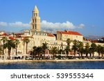 diocletian's palace  split... | Shutterstock . vector #539555344