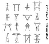 Silhouettes Of High Voltage...