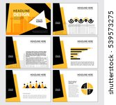 multipurpose template for... | Shutterstock .eps vector #539573275