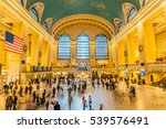 main hall grand central... | Shutterstock . vector #539576491
