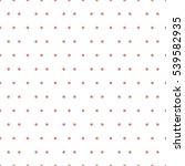 seamless polka dots pattern... | Shutterstock .eps vector #539582935