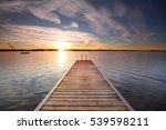 perspective view of a wooden... | Shutterstock . vector #539598211