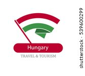 hungary the travel destination... | Shutterstock .eps vector #539600299