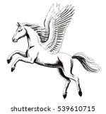 pegasus | Shutterstock . vector #539610715