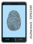 smart phone   original design | Shutterstock .eps vector #53961340