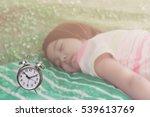 Alarm Clock With Sleeping Cute...