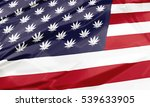 the national united states flag ...   Shutterstock . vector #539633905
