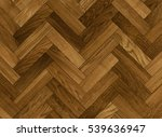 fragment of parquet floor | Shutterstock . vector #539636947