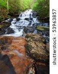 minnehaha fall  north georgia....   Shutterstock . vector #53963857