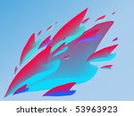 passion vector template   Shutterstock .eps vector #53963923