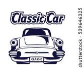 classic car logo   Shutterstock .eps vector #539646325
